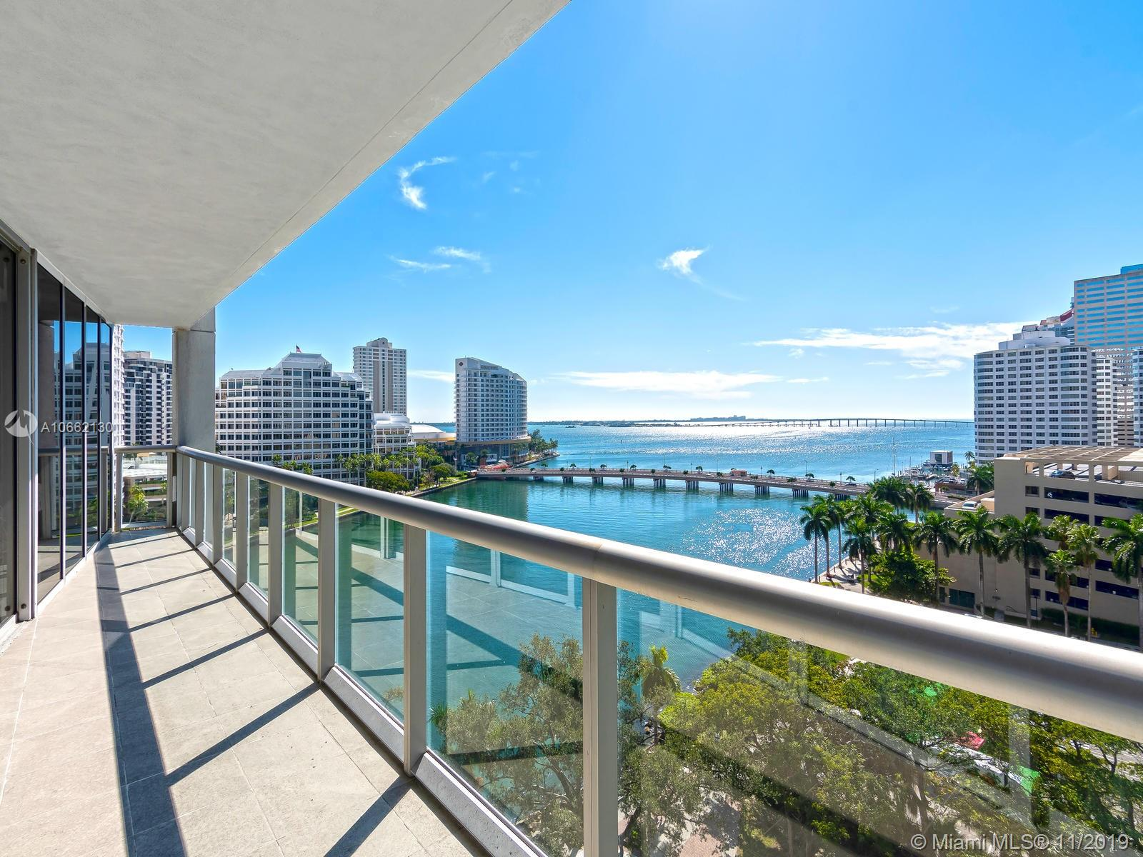 ICON BRICKELL NO TWO CONDO UNIT 1001. Motivated Seller! Spectacular corner unit, 3 Beds, 2 Baths with amazing Bay views from every angle, marble & wood floors, European Kitchen, Large Balcony facing the Biscayne Bay, Enjoy the incredible Resor t Life Style this bldg offers theater, party and billiard room, gym, luxury spa, infinity pool, gourmet restaurants!