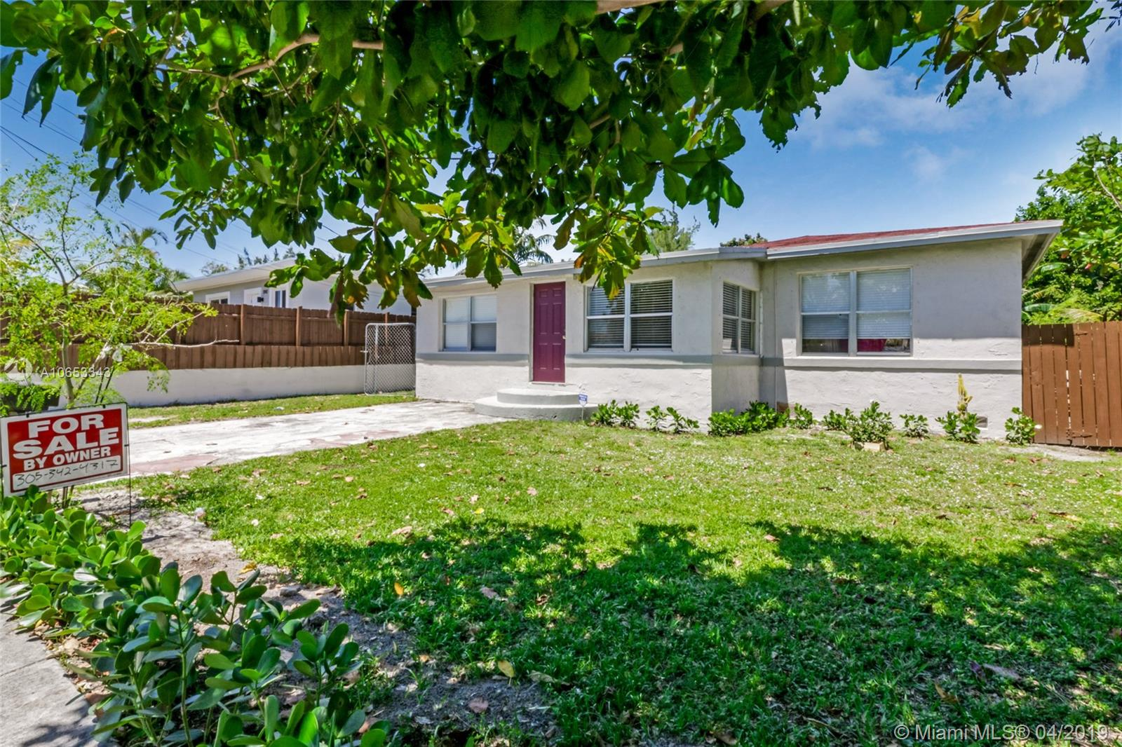 1157 N E 112th St  For Sale A10653343, FL