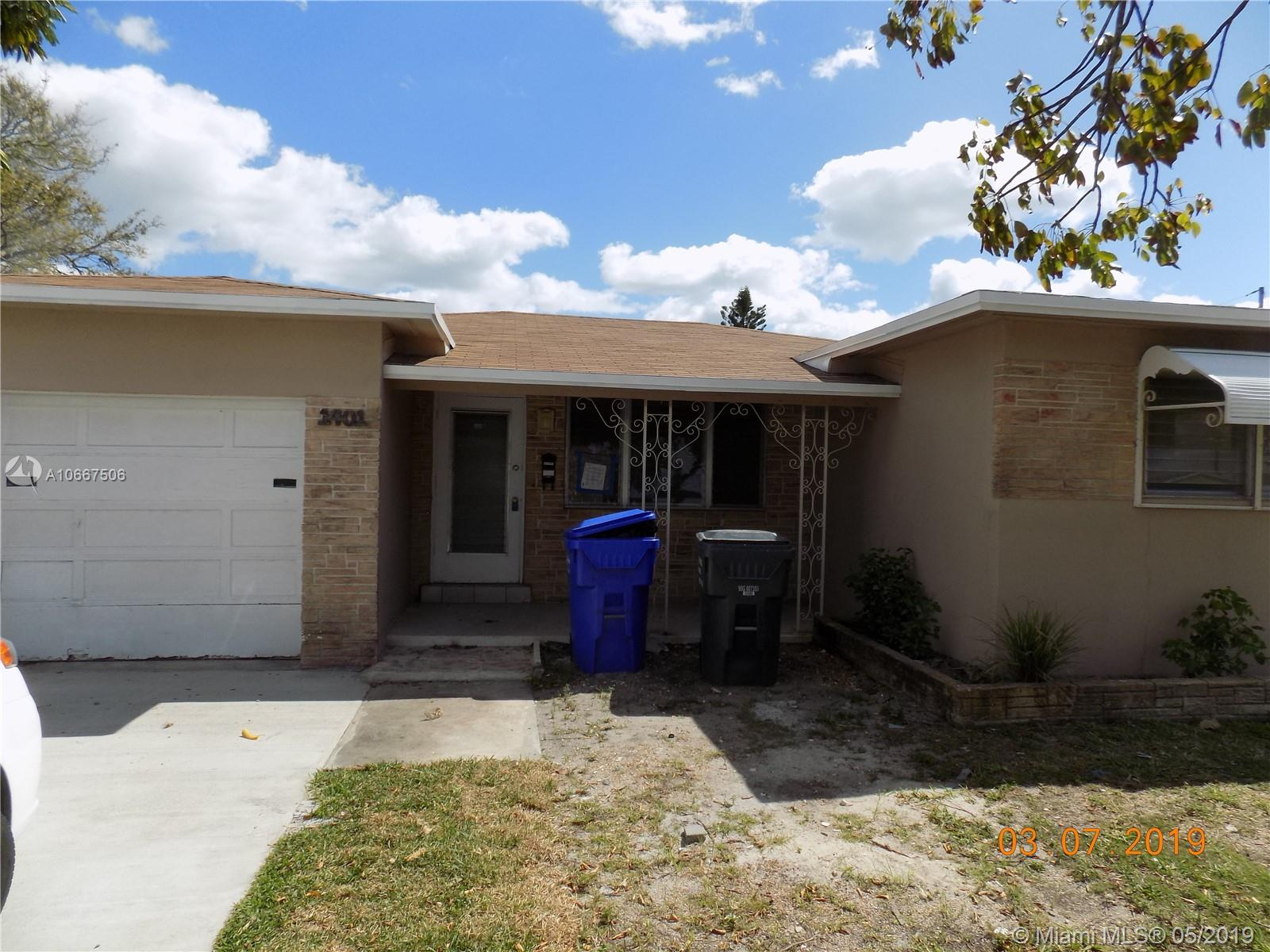 1401 S 25th Ave  For Sale A10667506, FL