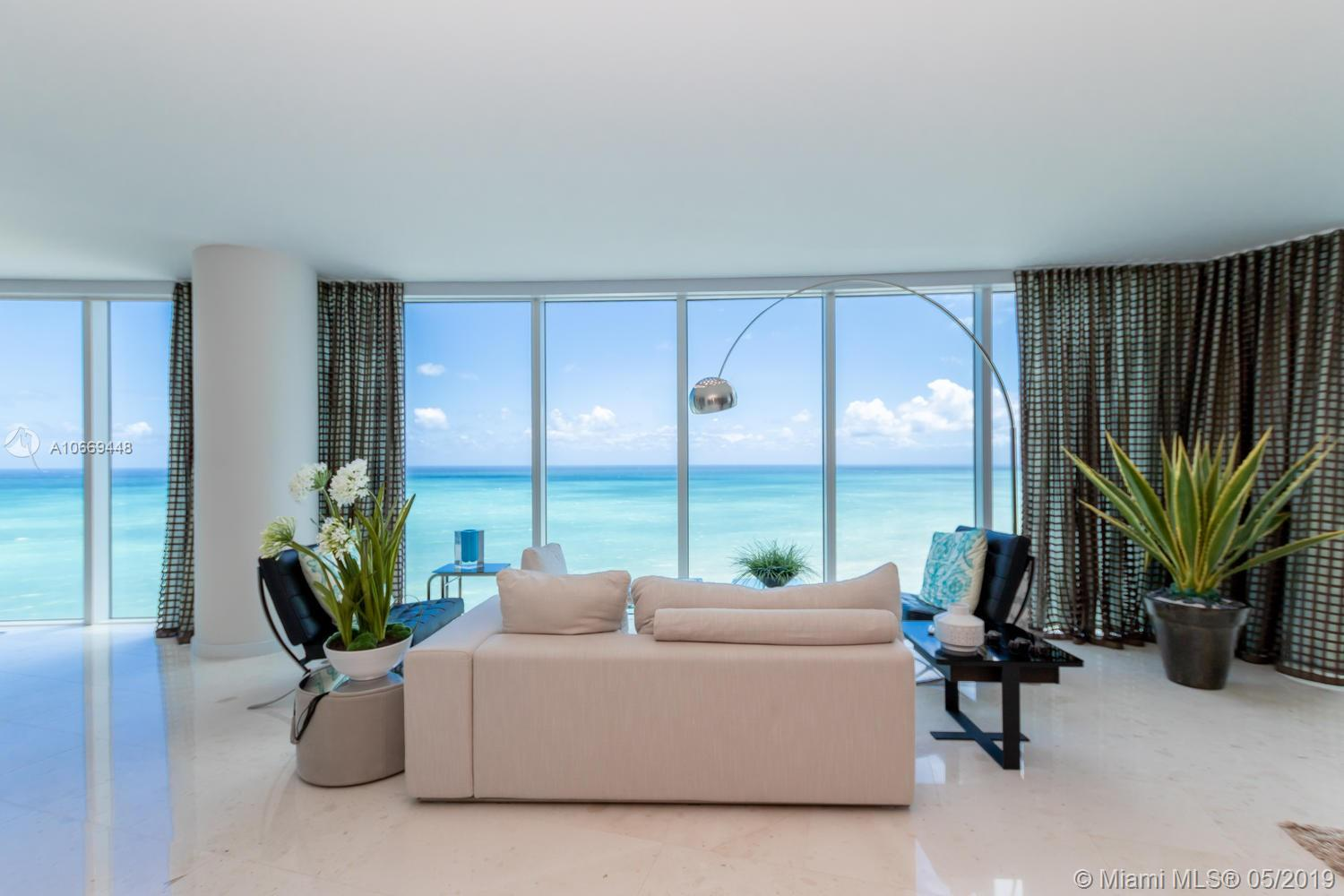 No doubt Trump Hollywood new condos at Hollywood Beach, Florida is modern and most attractive properties with a marvelous view. The building was built in 2012 by Related Group, that is famous for its well-recognized properties in South Florida, and it has a direct beachfront location. Moreover, you'll also find a business center, fitness center with SPA, tennis court and cabanas by the ocean side, as well as Ocean Drive aside, offers plenty of leisure and other activities. Here you'll find cable TV, high-speed Internet, and multiple phone lines, granite and marble kitchen countertops, stacked washer and dryer.Just bring your luggage to move in! Completely furnished, stunning views from every corner!!Buyer motivate!! Accept trade in a smaller unit in the same bldg! SHOWING CALL AGENT