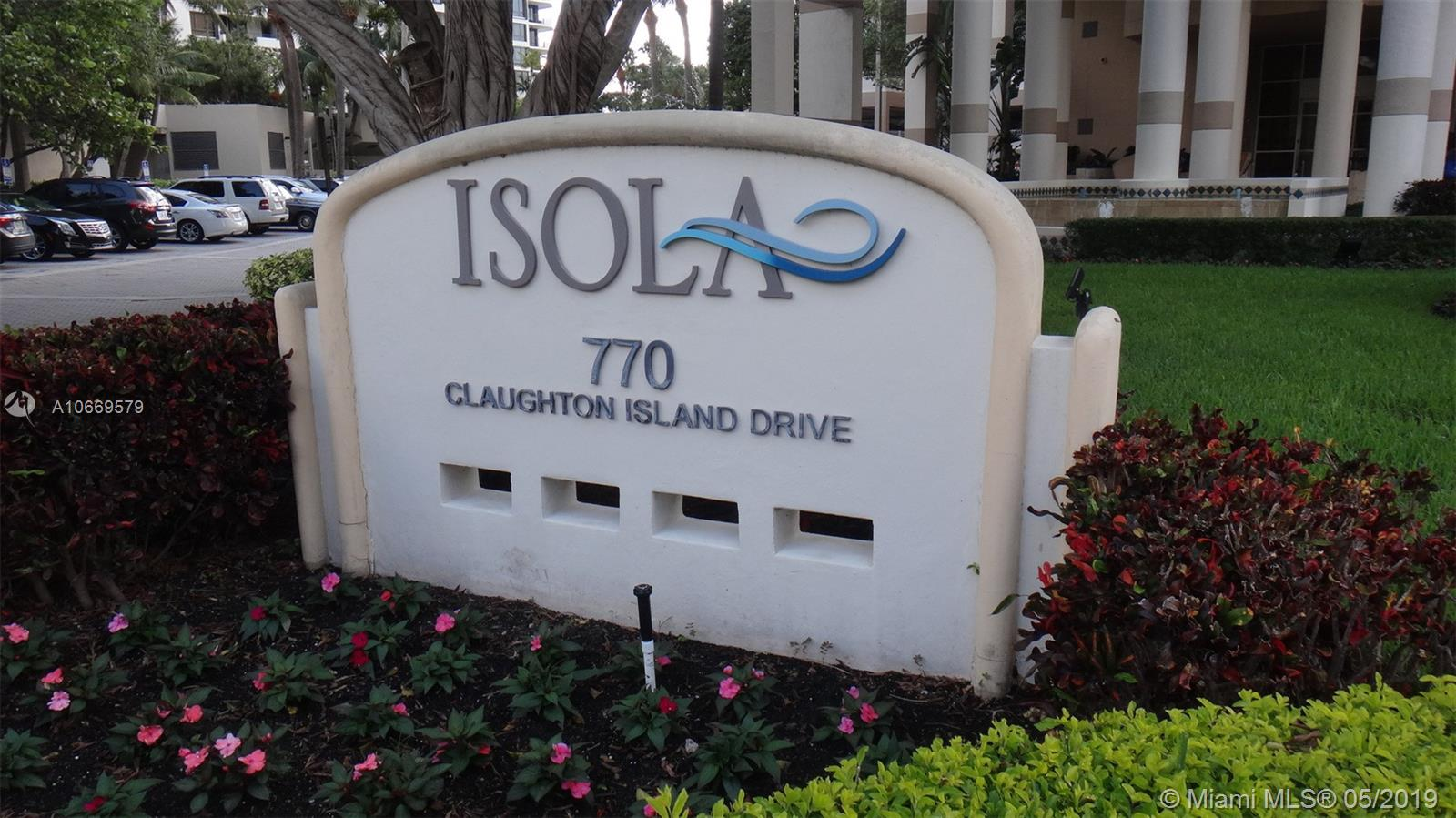 770  Claughton Island Dr #2106 For Sale A10669579, FL