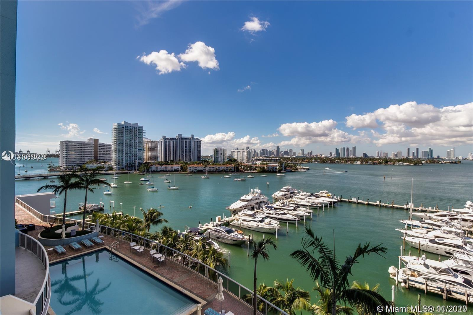 1800  Sunset Harbour Dr #1010 For Sale A10669788, FL