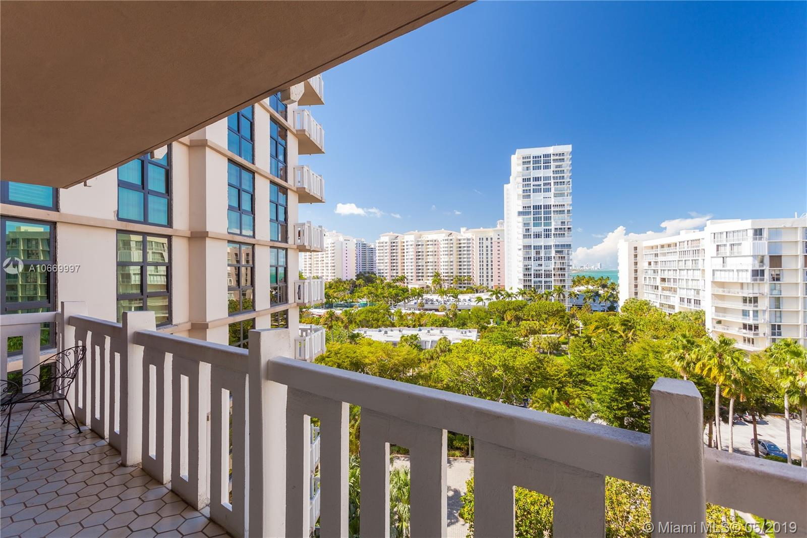 1121  Crandon Blvd #E703 For Sale A10669997, FL