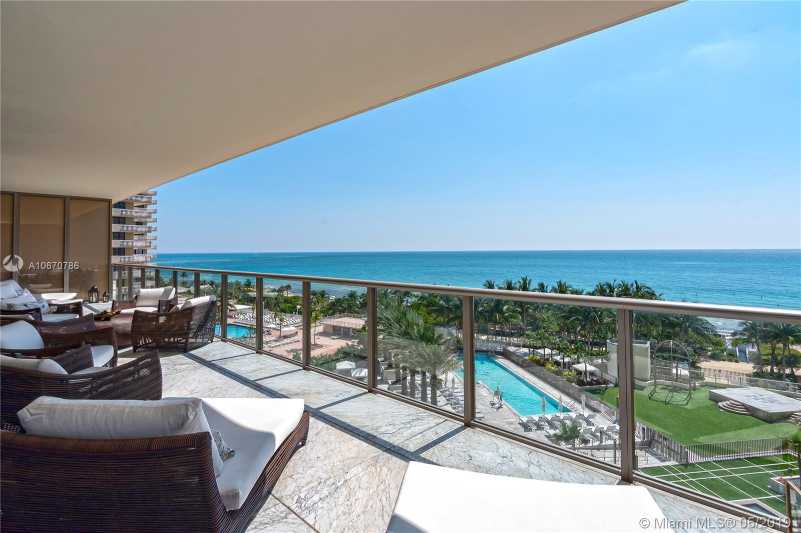 9705  Collins Ave #702N For Sale A10670786, FL