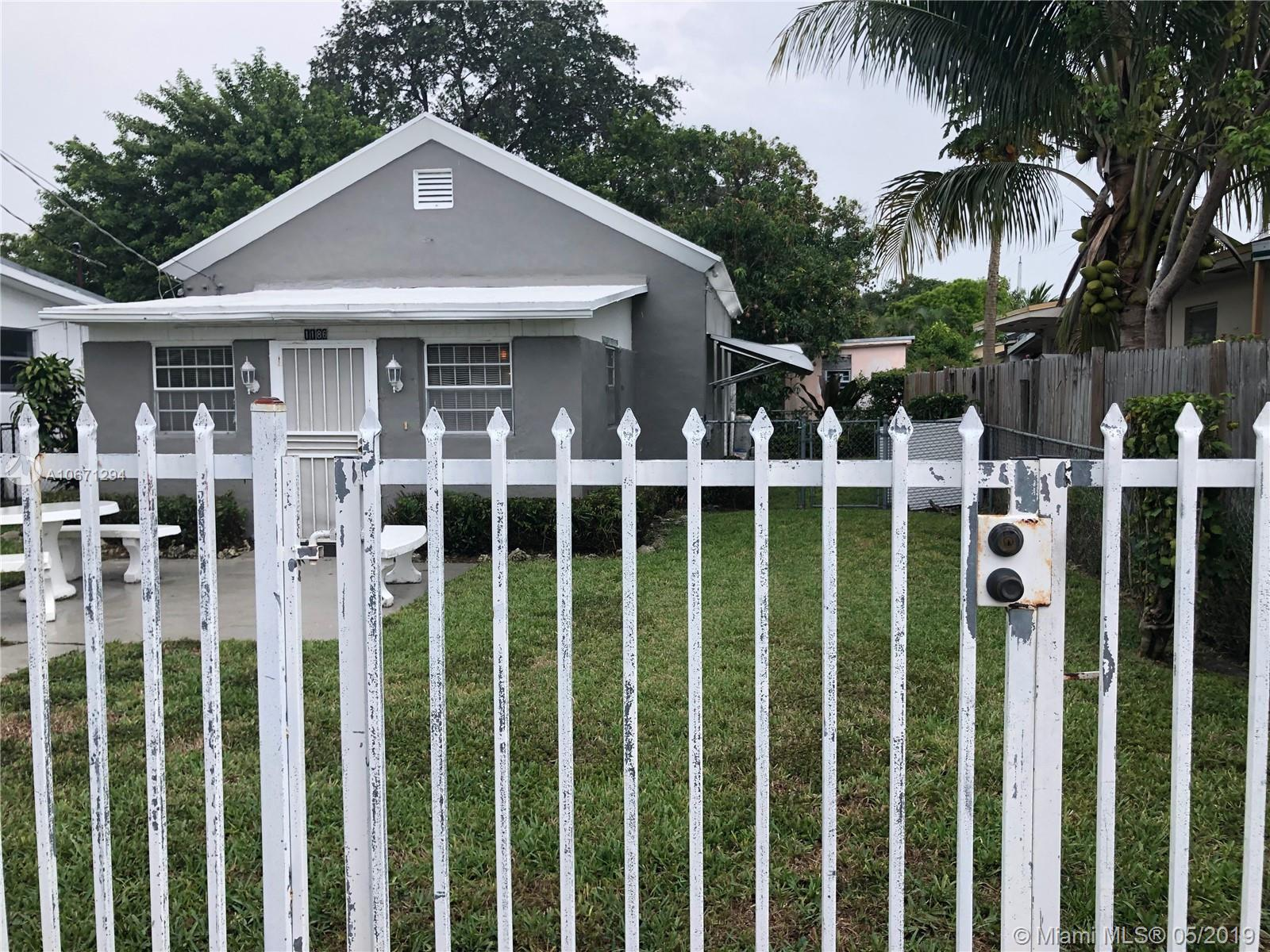 1186 NW 56th St  For Sale A10671294, FL