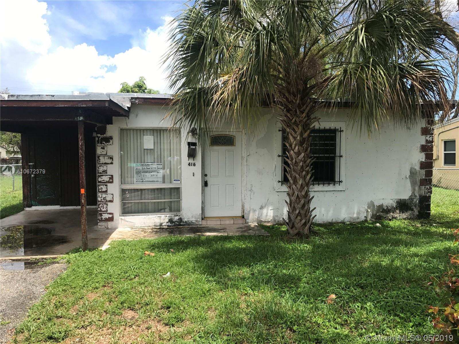 416 NW 15th Ave  For Sale A10672379, FL