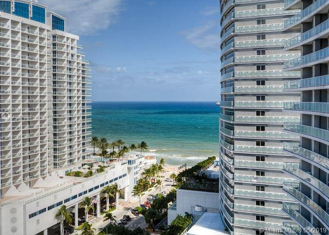 You will love this residence at the W Fort Lauderdale. Stunning corner unit, 2 bedrooms/2 baths + DEN, newly renovated, fully furnished and decorated by an internationally recognized interior design Meyer Davis, 1 bedroom/1 bathroom. With the building positioned between the beach and the intracoastal, the large sized balcony has breathtaking ocean, intracoastal & city views. Full kitchen with styled Italian cabinetry, washer & dryer in unit, porcelain wood tile in living area. W Hotel and Residences 5-star amenities includes; Bliss SPA, 2 pools (East and West Deck), pool bar, fitness center, sushi bar, 954 Steak House, El Vez Mexican restaurant, lobby bar (The W Living Room), convention center and more. NO RENTAL RESTRICTION.