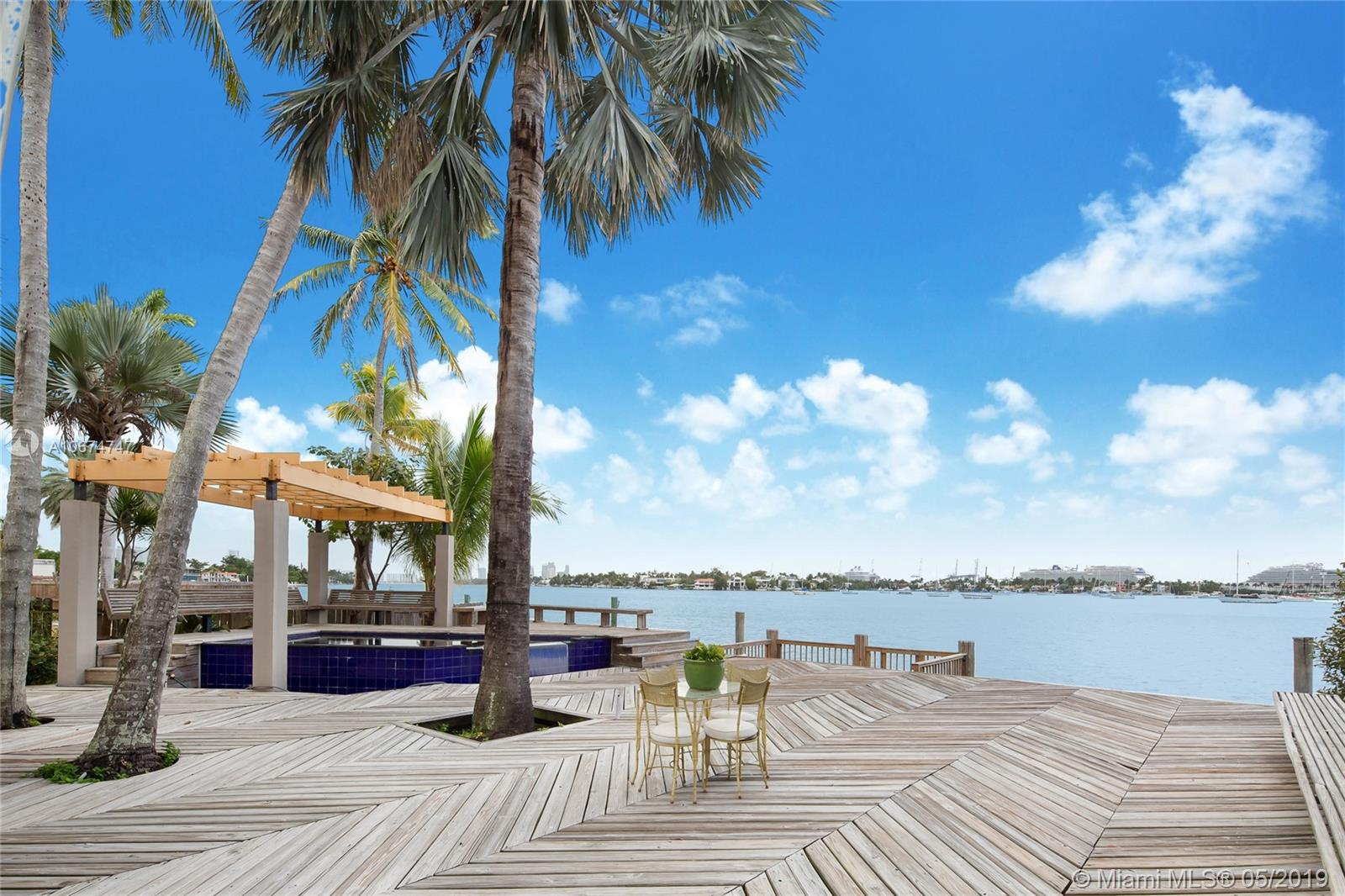 Priced for an immediate sale, this amazing opportunity to own a Waterfront property with 70 feet of Waterfrontage on a 12,250 sq. ft., lot has spectacular unobstructed open water views overlooking the water of Biscayne Bay, Downtown Miami Skyline, Cruise Ships, South Beach, Adrianne Arsht Center, Edgewater, and beautiful sunsets!  The property has a South exposure that allows for lots of natural light that fills the home all year around.  Located on the hip Venetian Islands this property is a short distance to Miami International Airport, Wynwood, Design District, South Beach, Performing Arts Center, American Airlines Arena, Downtown Miami, Brickell Area, Restaurants, Shops, Galleries, Houses of Worship, Supermarkets, and much more.  Great for entertaining, and investment opportunity.