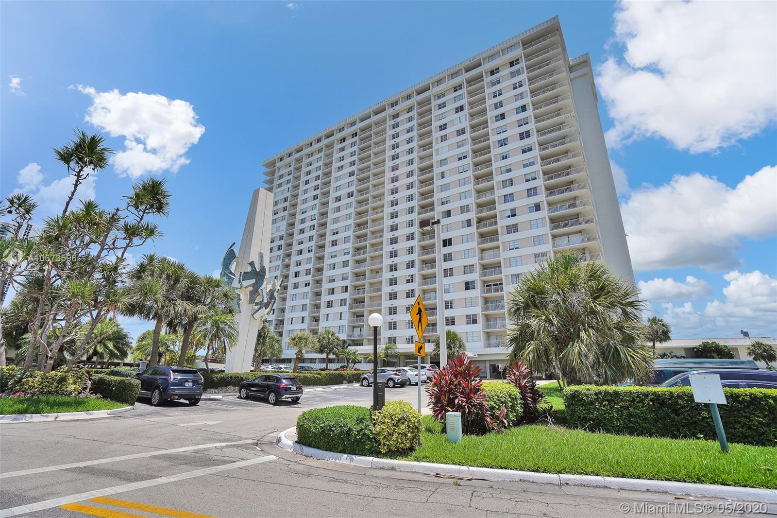 300  Bayview Dr #2101 For Sale A10673596, FL