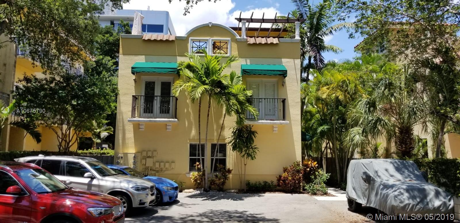 2859  Coconut Ave #2859 For Sale A10675790, FL