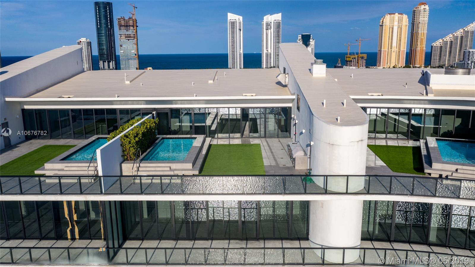 Live on your private island. Prive is an exclusive private island in Aventura. It offers five star amenities and absolute privacy. Decorator ready Penthouse unit with 4,398 sq.. feet. And 15ft ceilings, private elevators, summer kitchen on each level and private pool in balcony. Enjoy unobstructed waterfront views from every room, Intracoastal, Bay and Ocean. Amenities include private gatehouse entry, full time concierge, 10,000 sq. ft. Gym/spa, marina, pier, 2 pools, restaurant, wine cellar, cigar room, Social Rooms, teenage room, Guest Suites, Caterers Kitchen with Private dining.room