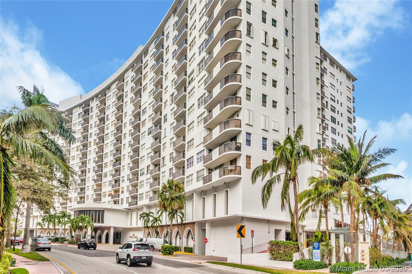 6039  Collins Ave #635 For Sale A10675468, FL