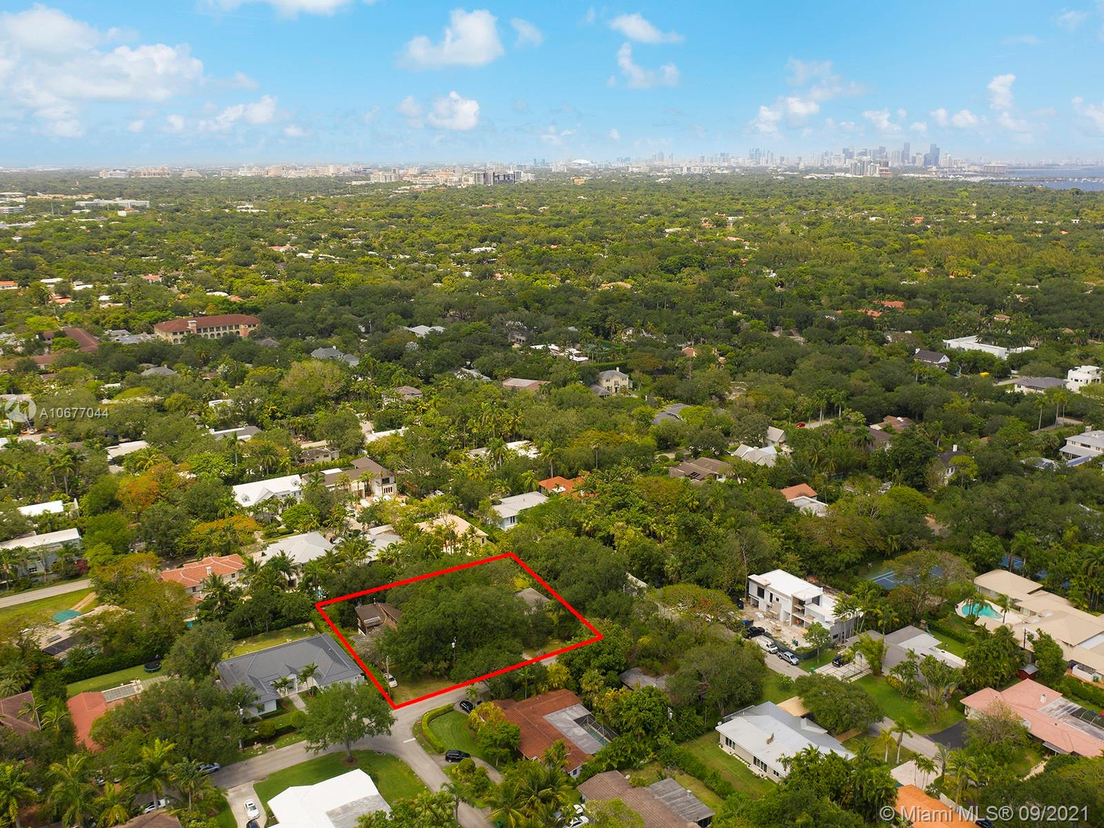 Prime for development, this nearly 6,000 sqft lot in South Miami is situated on a quite, tree lined street, in one of Miami's most prestigious neighborhoods. Just minutes from all of South Miami's, Coral Gables', and Coconut Grove's restaurants and shops, it is also located near some of the area's best schools including: Sunset Elementary, Gulliver Schools, Temple Beth Am, Epiphany, St Thomas Episcopal, and others.