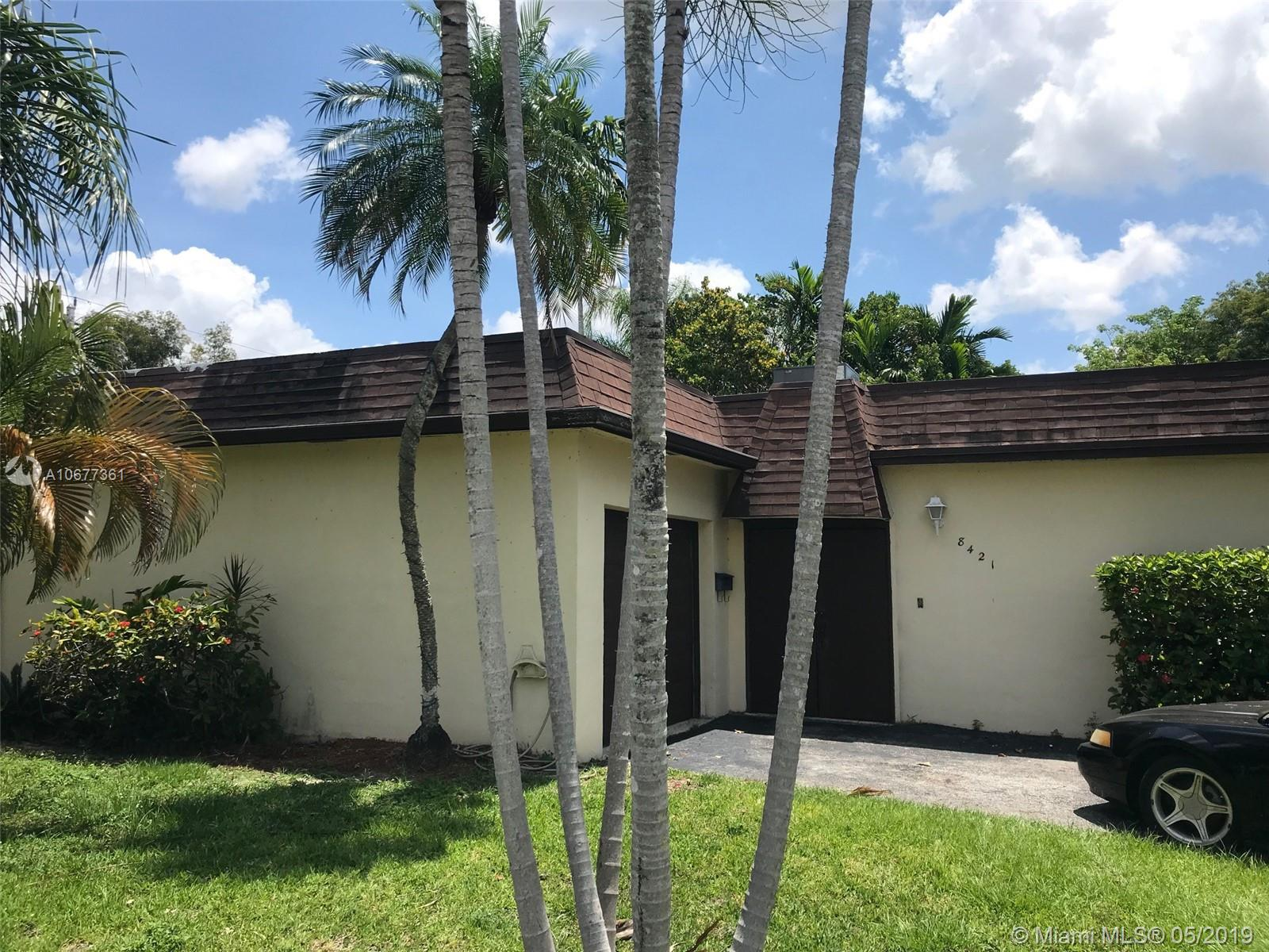 8421 S W 102nd Ct  For Sale A10677361, FL