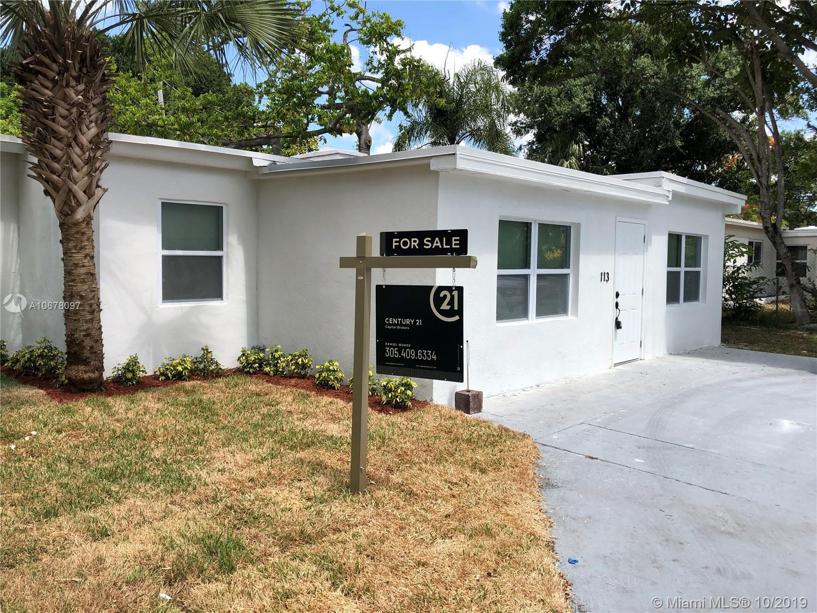 113 SW 21st Way  For Sale A10678097, FL