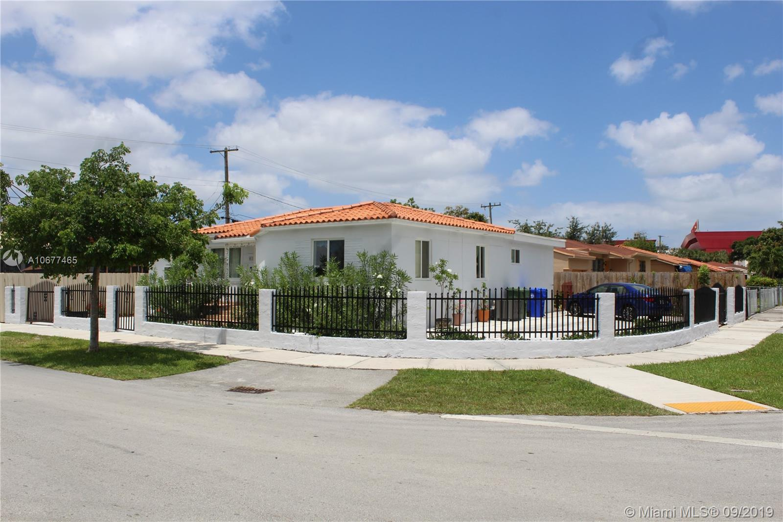 This house is in A great location. Close to the airport, Brickell, and Downtown Miami. Great property 4 Bedroom/3 Bathroom home. Originally a 3/2 they have added a 1/1 with a full bathroom in the home. Has had over 50k in renovations including impact windows.