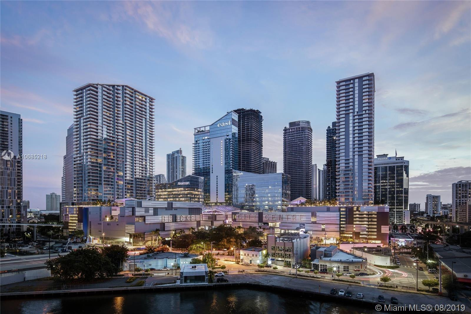 Magnificent one of a kind huge  three bedroom residence with breathtaking views in the middle of the phenomenal Brickell City Centre. High ceilings, and spectacular finishes, most avant-garde design Miami has to offer. World class amenities and steps from all the shopping and dining of Brickell City Centre Mall. Class, taste, prestige and luxury! Expansive wrap around 450 SQ FT terrace! Look no further! Custom closets and exquisite upgrades. Photos show a model unit 02 line.