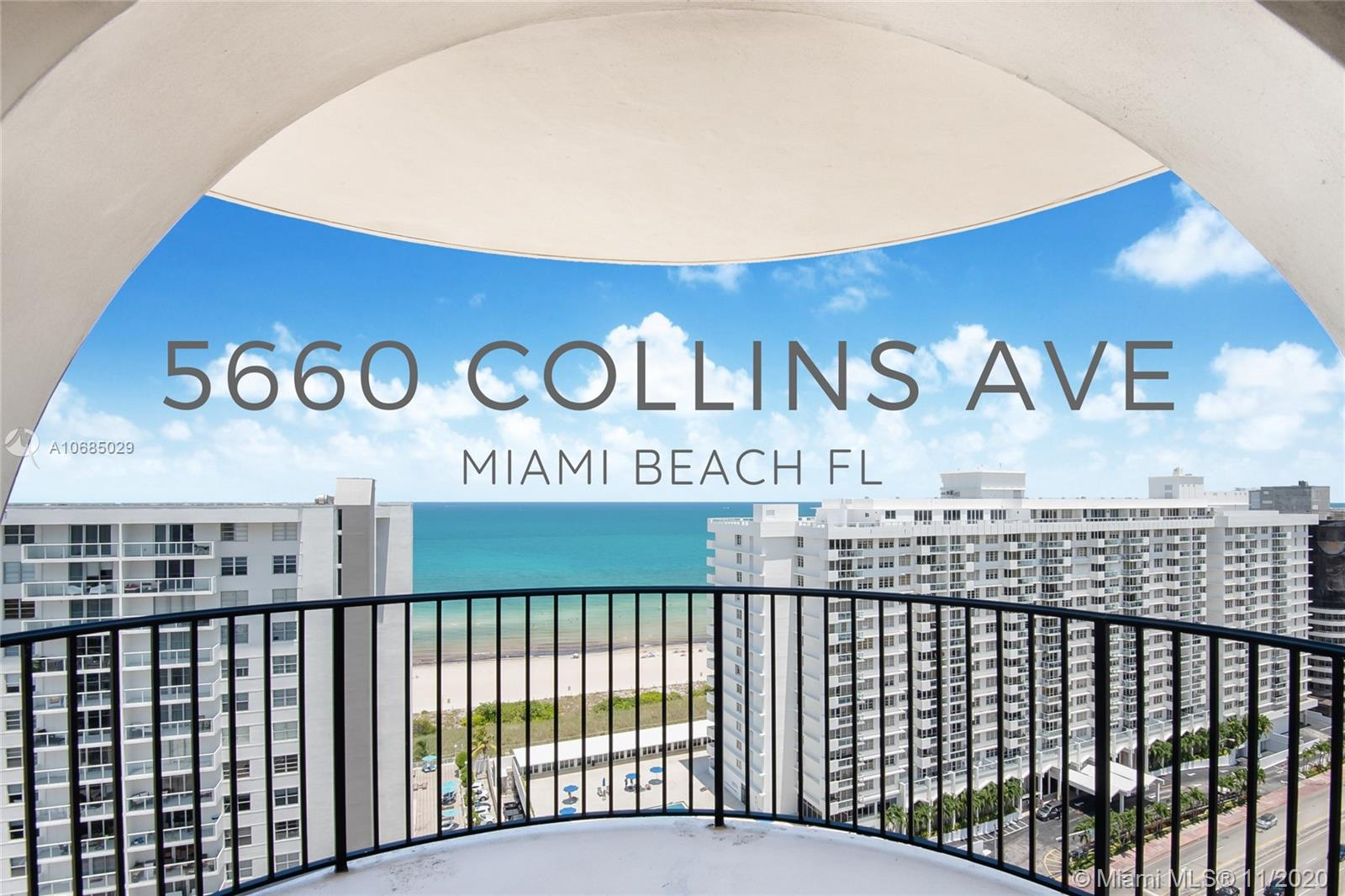 5660  Collins Ave #19C For Sale A10685029, FL