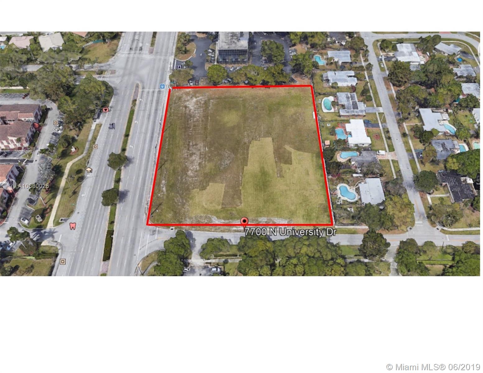 7700 N university  For Sale A10680025, FL