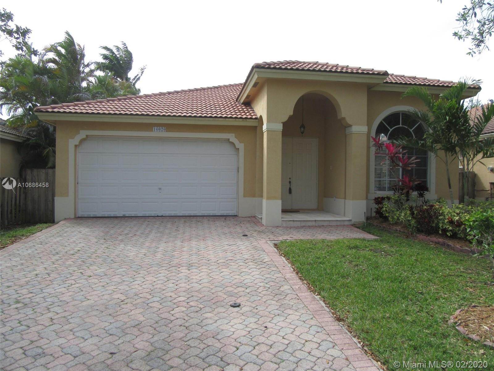 16020 SW 91st Ct  For Sale A10686458, FL