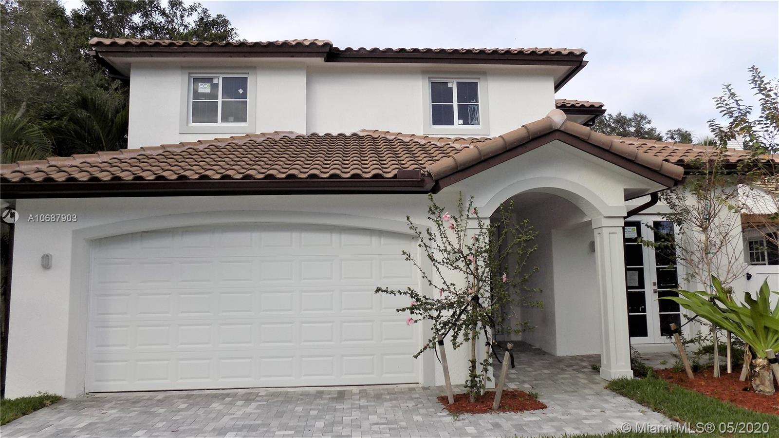 AMAZING 2-STORY CUSTOM BUILT HOME WITH THE POOL!! LOCATED in one of the BEST neighborhoods in Fort Lauderdale** NEWLY BUILT WITH 5BED/5BATH**4,569 SQFT-Total Main Residence**TRANSITIONAL-MODERN architecture outside and MODERN finishes inside**EXCELLENT combination of Porcelain tile and wide plank wood flooring**All Rooms are LARGE**MASTER has a big patio overlooking the pool area**CONTEMPORARY finishes include EURO STYLE cabinetry w/quartz counters*** This HOUSE is a MUST SEE!**DO NOT MISS YOUR CHANCE TO OWN NEWLY BUILT HOME IN RIO VISTA AREA!!** SEE BROKER REMARKS**