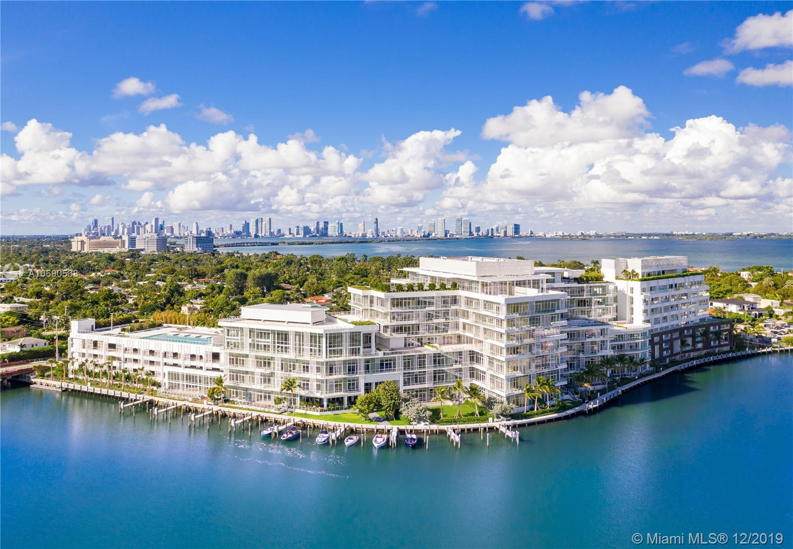 Along the banks of a private ocean inlet, The Ritz-Carlton Residences, Miami Beach is the first full-scale residential project designed by Master Italian Architect Piero Lissoni. Comprised of only 111 residences, this one-of-a-kind corner residence features four large bedroom suites with bathrooms and large closets, a powder room for guests, private elevator, and an oversized terrace with plunge pool, outdoor summer kitchen and unobstructed views of Miami Beach, Biscayne Bay, and Downtown Miami. Move-in this year and feel like you're living in a single-family home with access to five-star amenities and services managed by the world's leading hospitality brand, The Ritz-Carlton.