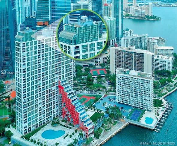 Enjoy majestic 360 degree ocean and skyline views from your spectacular glass Penthouse in the sky.  Perched high atop the luxurious 42-story Palace complex in the heart of Miami's highly coveted Brickell district, this 5,800+ sf, 6-bed, 4.5-bath, 3-story mansion features a dramatic living space appointed with exquisite Moroccan details including intricate and colorful mosaic tile, carved ornamental ceilings, marble flooring with inlays, and glowing ornate chandeliers, all juxtaposed against soaring walls of glass.  An entertainer's paradise, this home also features a true chef's kitchen, a private elevator, sun-drenched atrium, 5 car parking, and a private 3,000 sf terrace to soak in the heavenly views.  High amenity building.  Schedule a private viewing today!