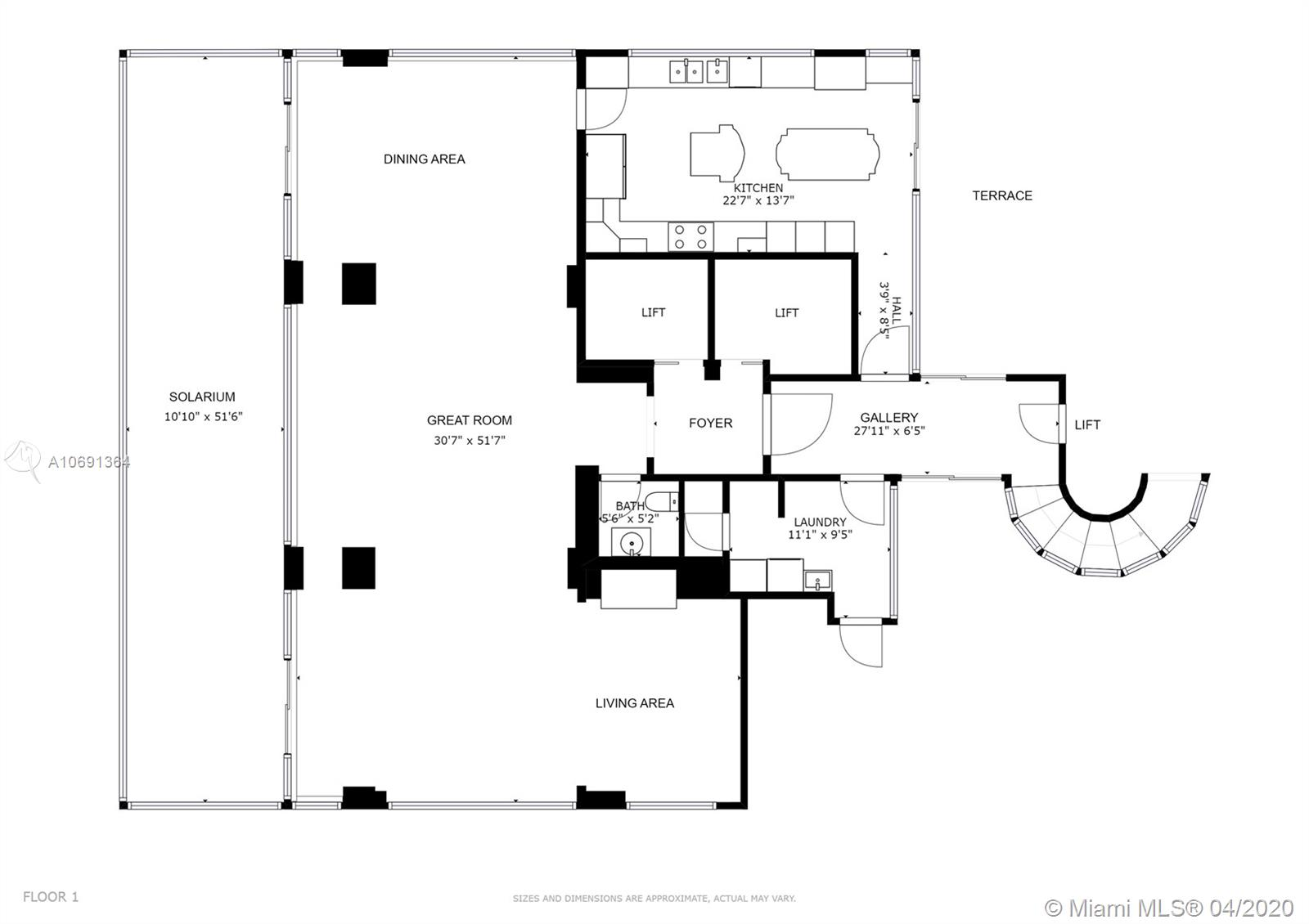 Image 32 For 1541 Brickell Ave  A4000