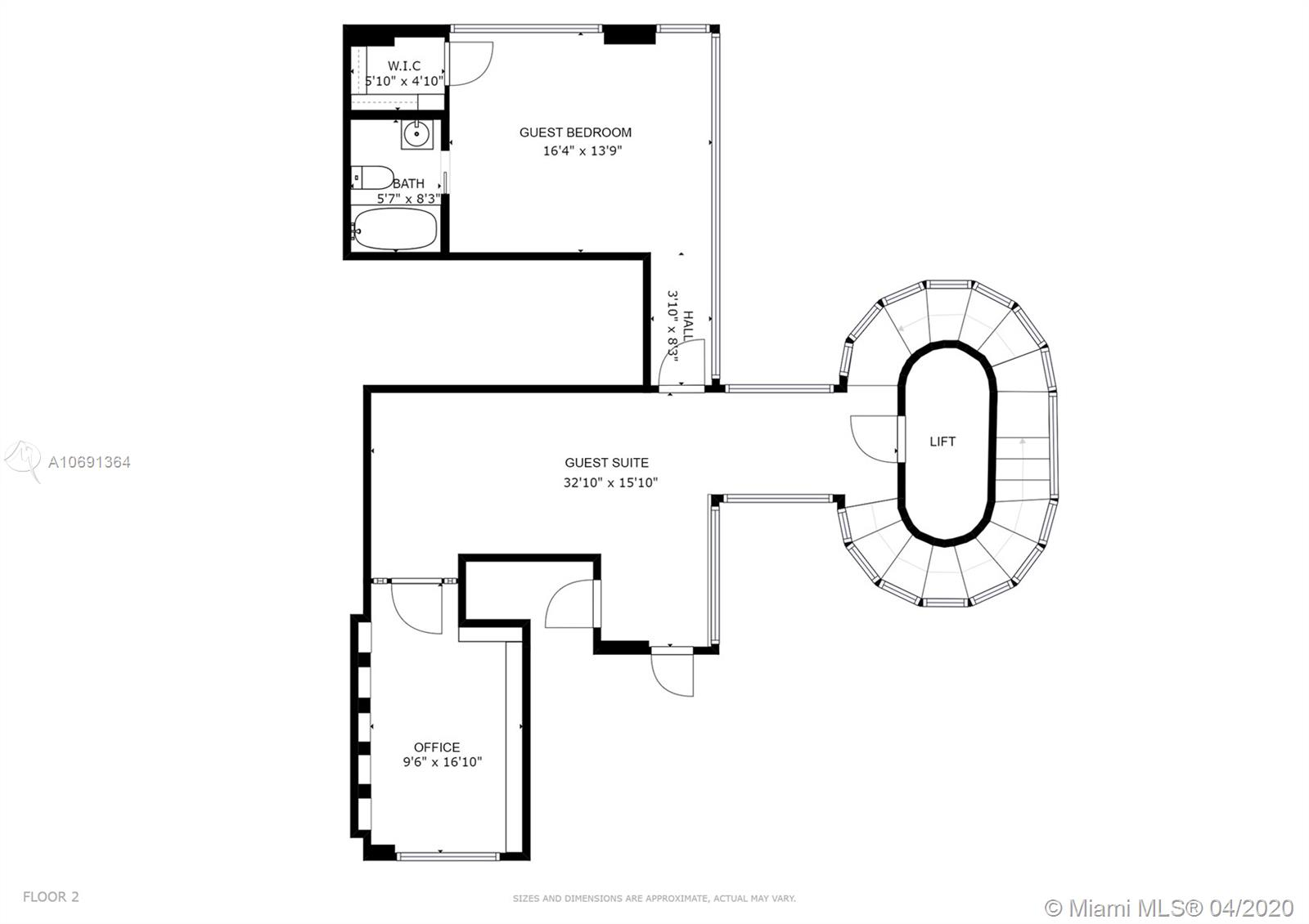 Image 33 For 1541 Brickell Ave  A4000