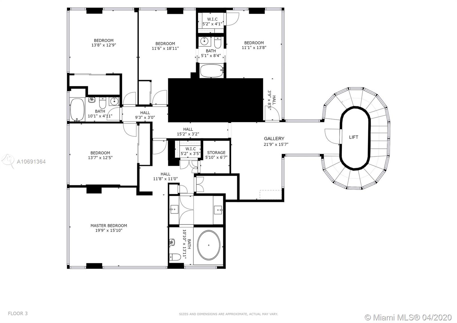 Image 34 For 1541 Brickell Ave  A4000