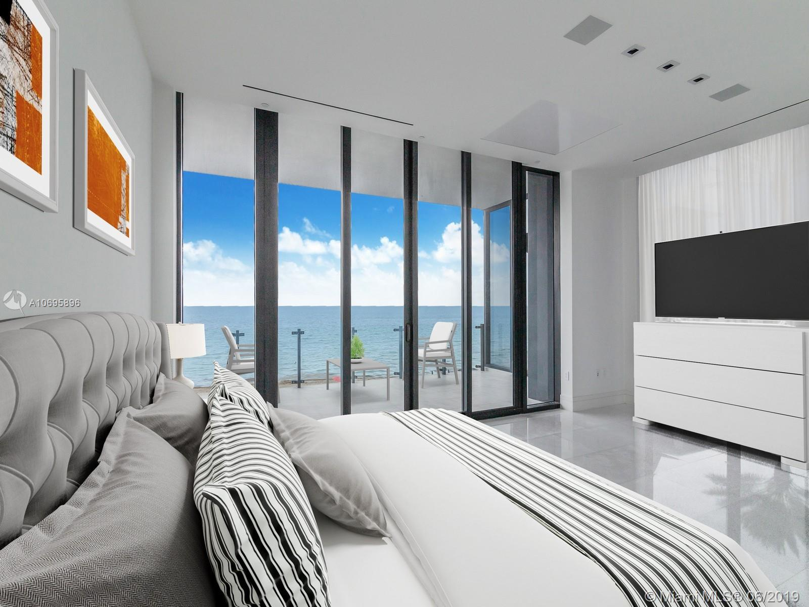Fabulous ocean views at exclusive MUSE residence. Highlights include private ocean view ,outdoor grill, Large ultra modern sleek TV for your living space. A Large crystal clear television that disappears into your master bath mirror. A biometric safe in the master suite that opens for you and only you. intelligent camera system to enhance security at entry -Sub-Zero dual temperature wine storage for up to 148 bottles Kitchens are accompanied by exquisite unique marble countertops and top-of-the-line SubZero/Wolf appliances taking your culinary experience to a whole new level. Smart iHome System: Each residence offers unparalleled efficiency through a cutting-edge smart home technology experience. Includes integrated audio, video, lighting, security and shades systems.