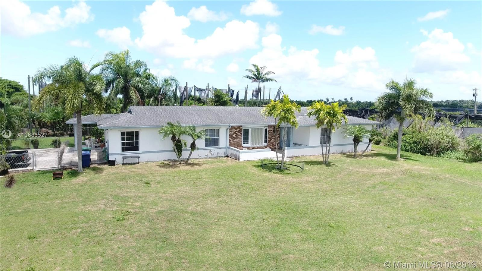 28405 SW 185th Ave  For Sale A10688527, FL