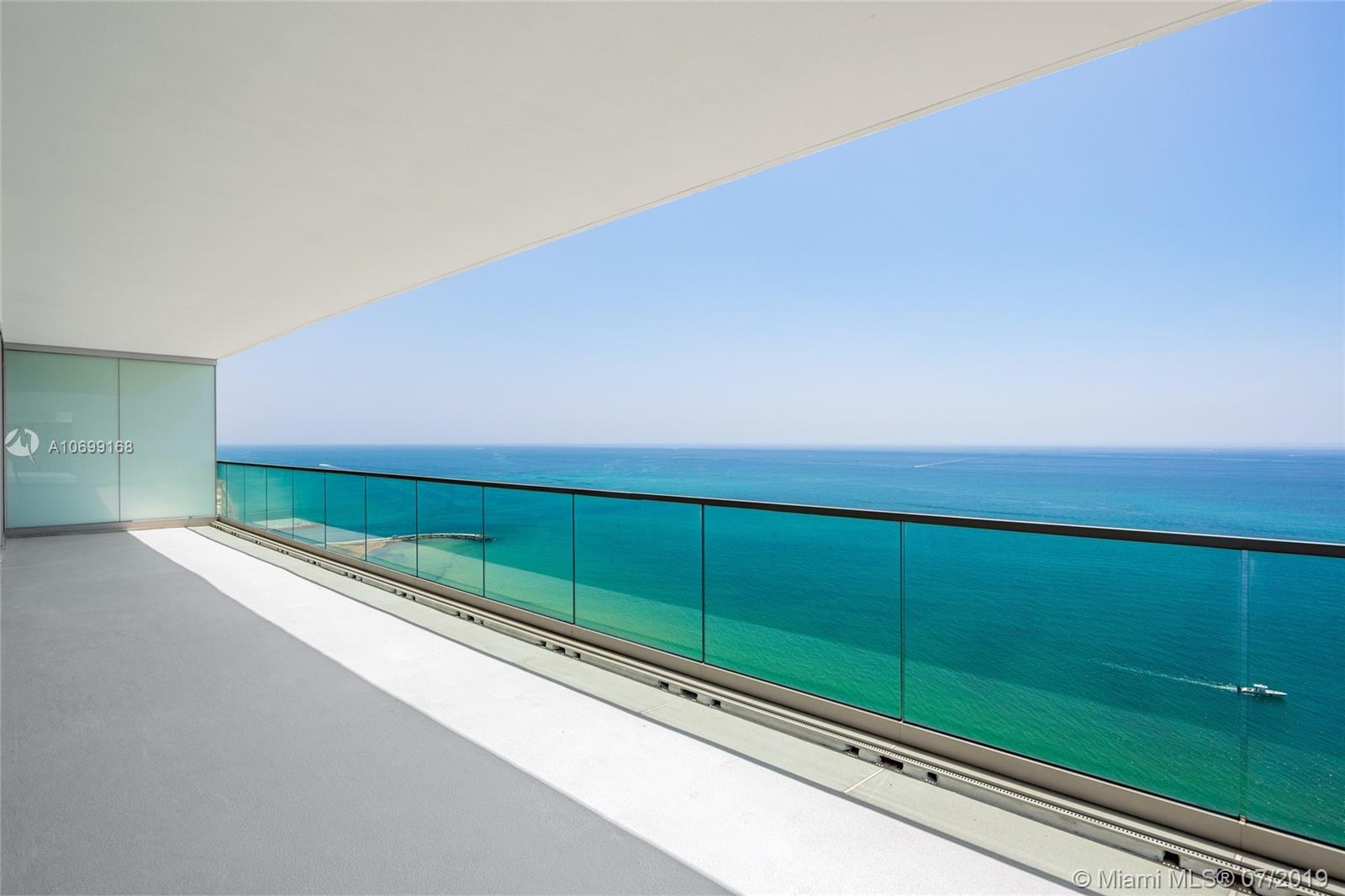 Be the first to experience oceanfront luxury lifestyle in unit 2501 at the exclusive Oceana Bal Harbour. Prime corner unit featuring flow-through design with unobstructed views of Atlantic Ocean, Intracoastal and downtown Miami from amazing deep wrap around terrace. This home in the sky offers floor-to-ceiling windows, gourmet kitchen with Gaggenau appliances, & spa-like bathrooms. Lavish amenities include 24-hour concierge, poolside restaurant, world-class spa, gym, cabanas, oversized pool and more.