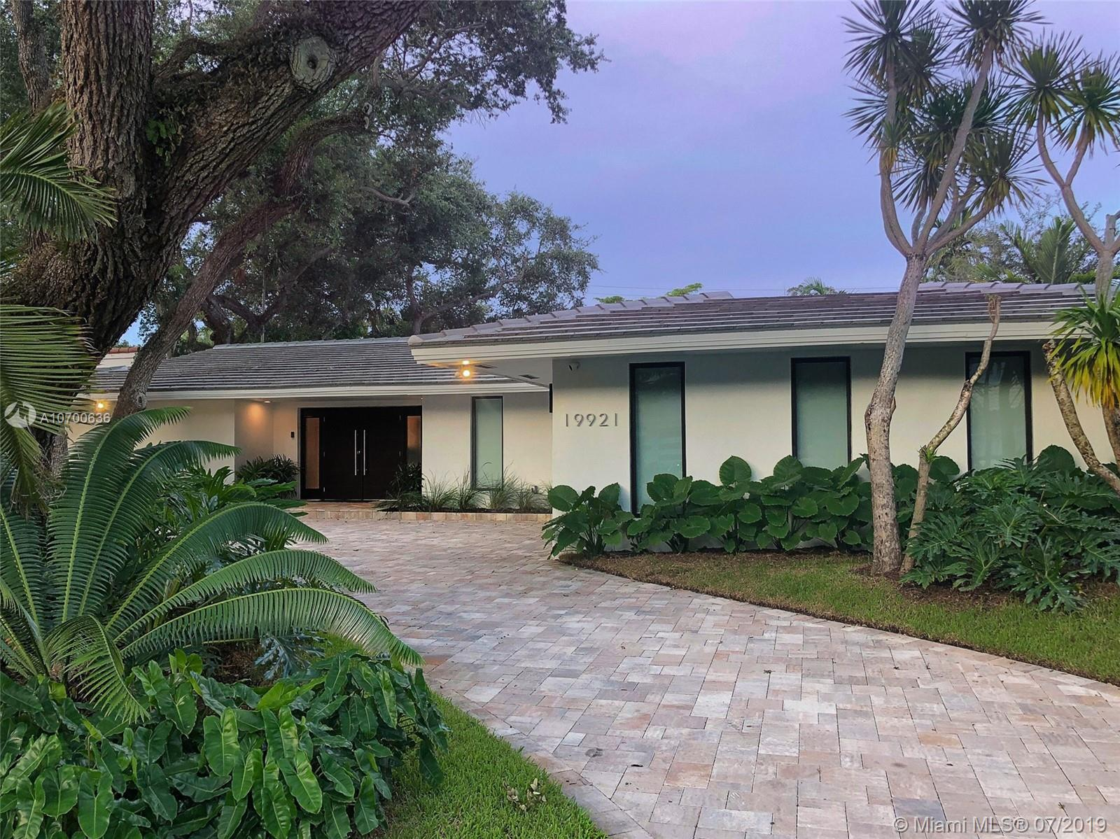 19921 N E 22nd Ave  For Sale A10700636, FL