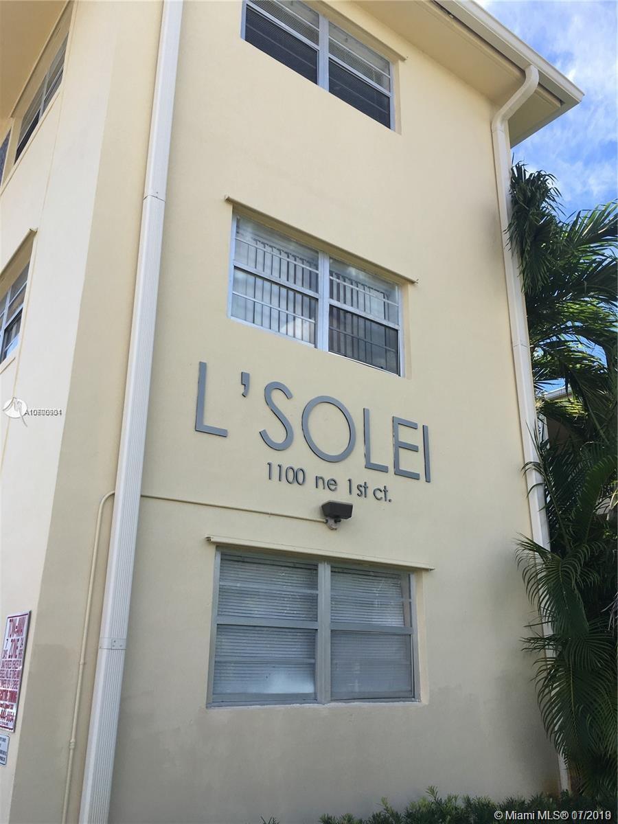 1100 NE 1st Ct #205 For Sale A10700901, FL