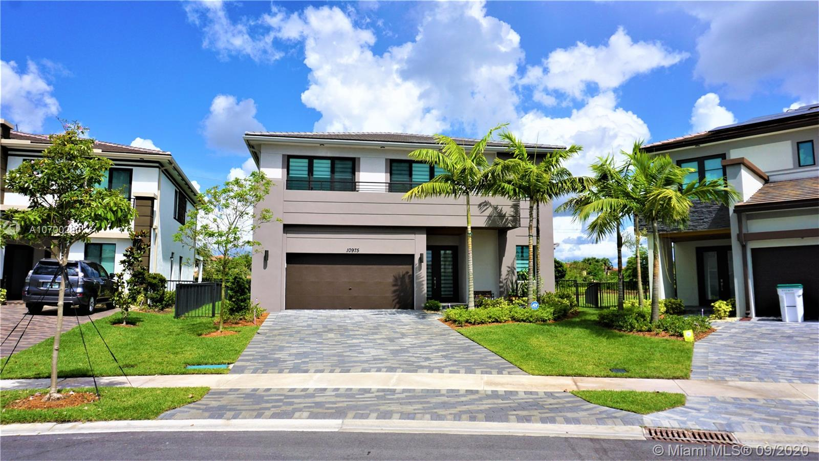 If you're looking for the best of community living with a broad range of amenities for every family member, your search end here. Cascata@Miralago. This new modern & smart house has 5 beds /4 full baths. First Floor, marble floor, open space concept, kitchen w/white quartz counters and SS appliances, a cabana bathroom, one bedroom, formal dining room, Family room, Living room and bar area. Second floor, wood floor, a master suit with reading area, two walking closets, big master bathroom, tub/spa, shower, loft space for entertainment, a bedroom with a private bath, the other bedrooms share a bath, 2 bedrooms with access to the balcony. A huge patio with lake view, access to cabana bath, perfect for your BBQ party. More than 150K in upgrades from the original model.