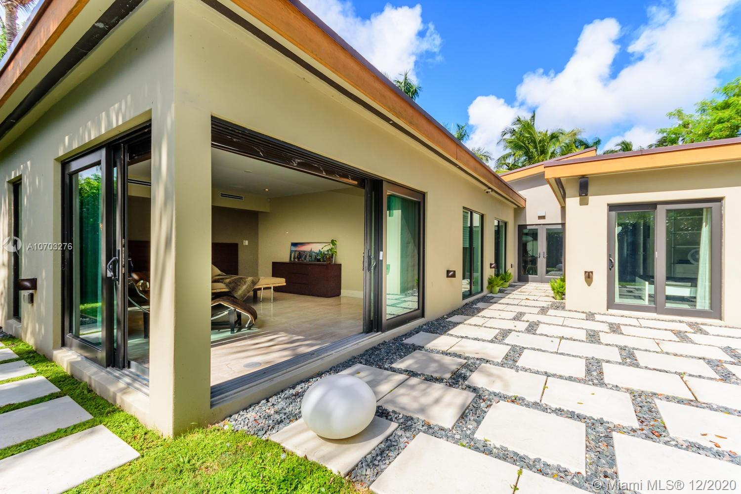 Built new from the slab up in 2014 with the highest quality materials.  Miele appliances, Energy Star Rated 3-zone air conditioning, large commercial-grade impact windows.  Enjoy a 1,000 SF master bedroom!! Possible fourth bedroom. Where better to enjoy the endless summer of South Beach then this chic Venetian Islands Bungalow. Perfect for the stylish urbanite who want to enjoy every moment, or the fun family who wants to make memories in this perfect home.