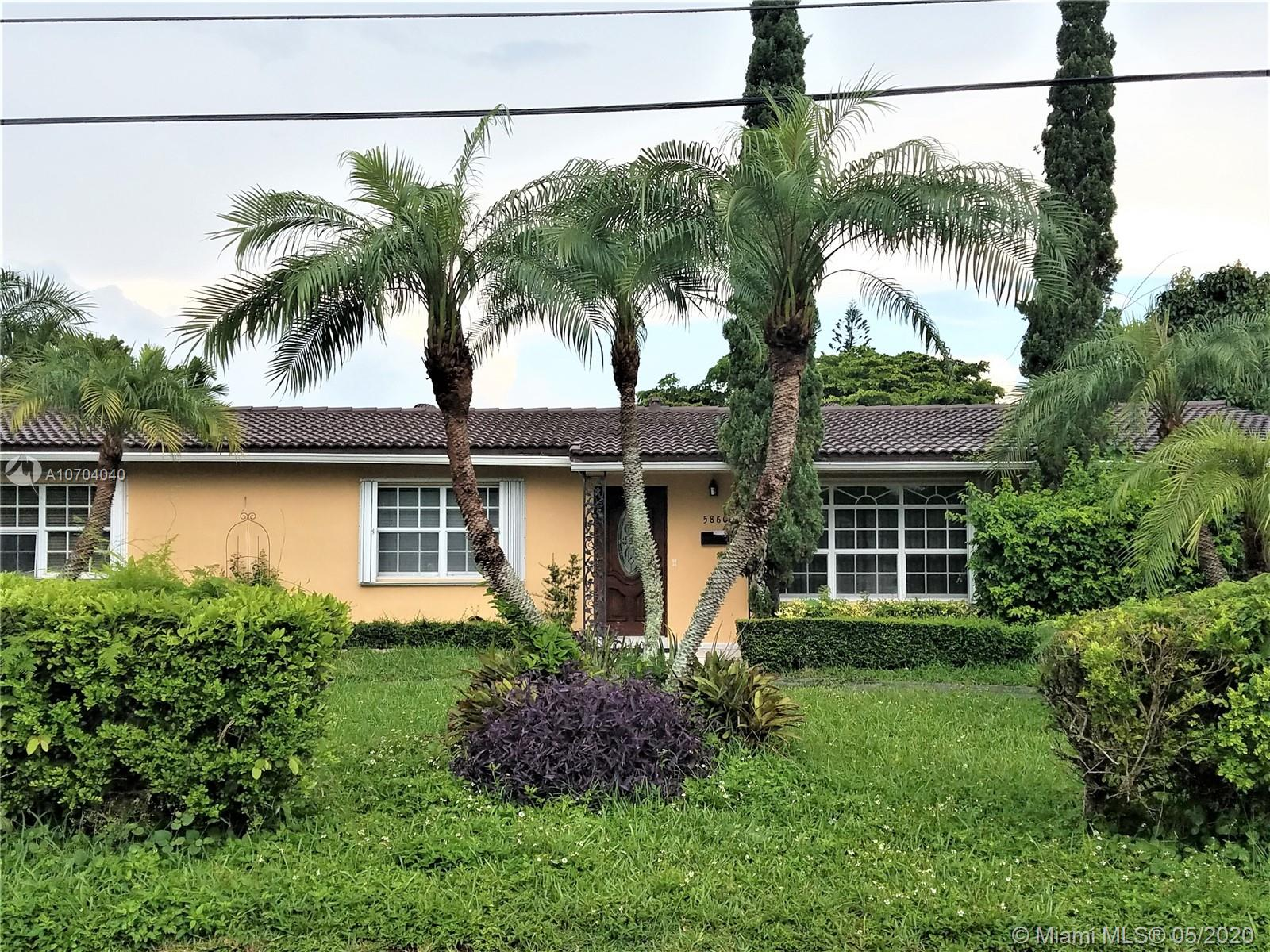 5860 SW 63rd Ave  For Sale A10704040, FL