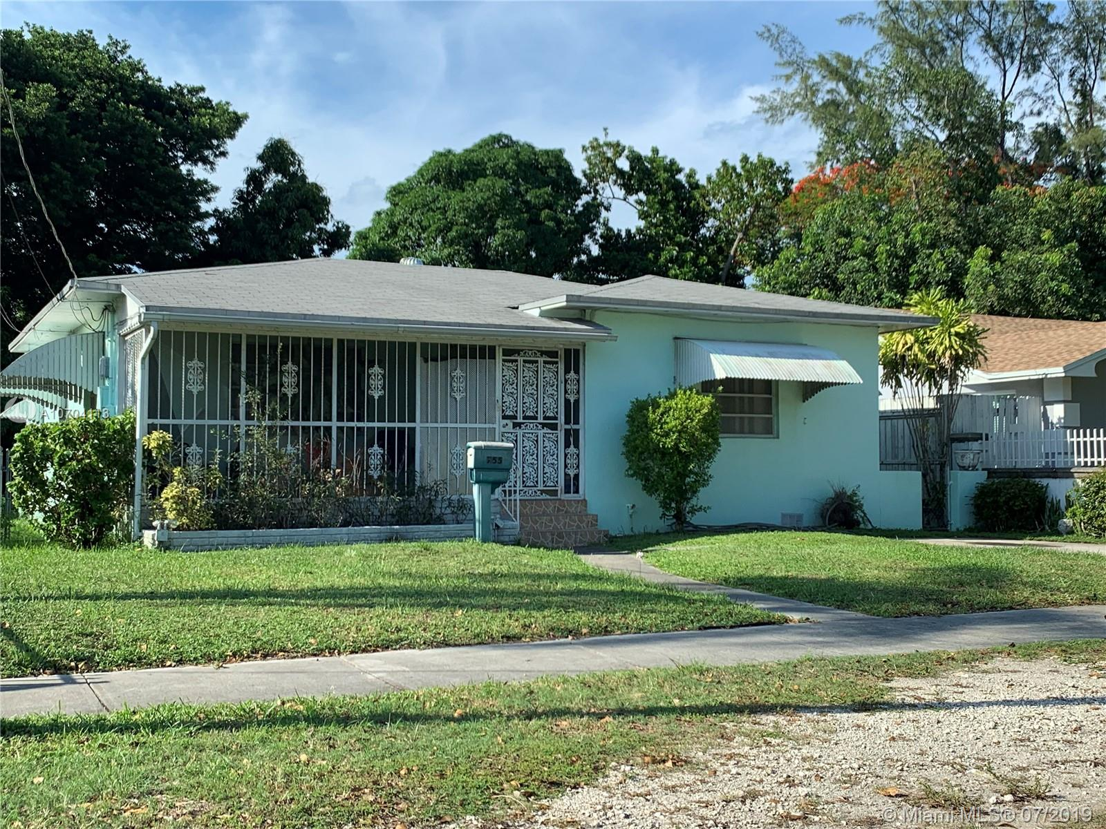 755 NW 43rd St  For Sale A10704113, FL