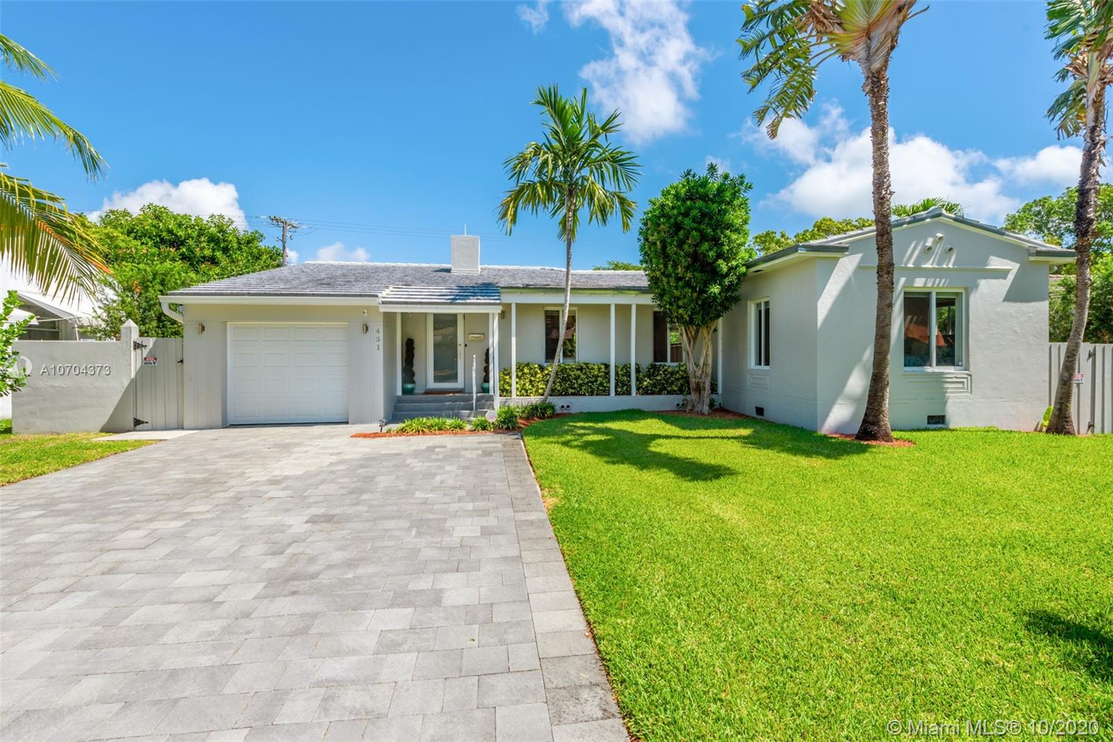 431 N E 53rd St  For Sale A10704373, FL