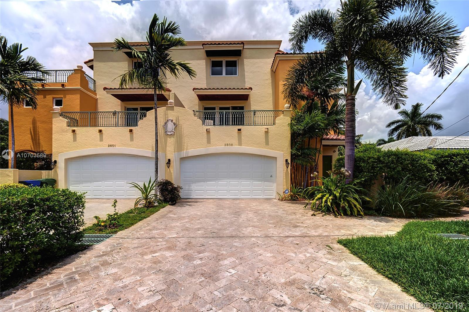 2603 NE 32nd Ave  For Sale A10703589, FL