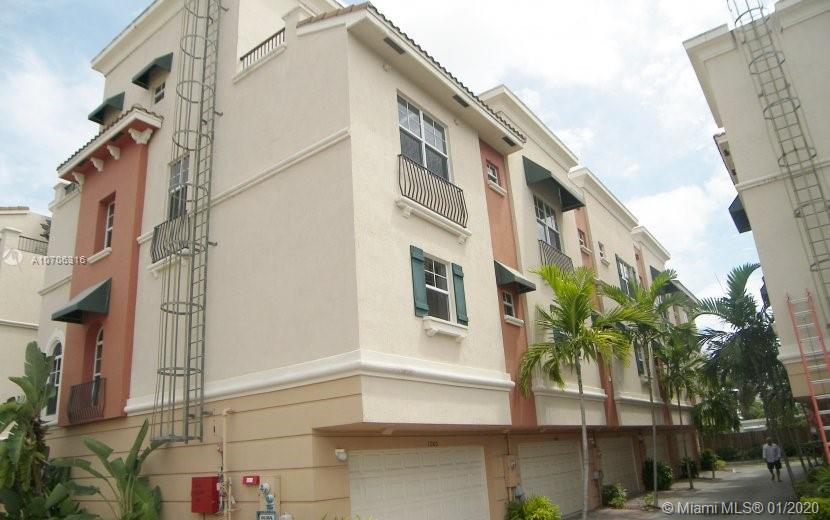 CORNER UNIT. SPANISH DESIGN. HIGH CEILING. REMODELED UNIT WITH CEILING FIRE SPRINKLER. LED SPOTS ON 1,2 AND 4TH CEILING. ALL A/C UPDATED TO GET 68 DEGREES ON EACH FLOOR. 4TH FLOOR WALL UNIT A/C. OFFERING CHILL 65 DEGREES. ALL NEW FLOOR. LARGE GARAGE WITH NEW 'MAINTENANCE FREE' FLOOR. (ORIGINAL A/C UNITS GOOD ONLY FOR 76 DEGREES AND 79 DEGREES ON 4TH FLOOR). 2 WALK-IN CLOSETS IN MASTER BED ROOM. 2 BALCONIES. 4Th Room is a bedroom and office and has a wall bed.