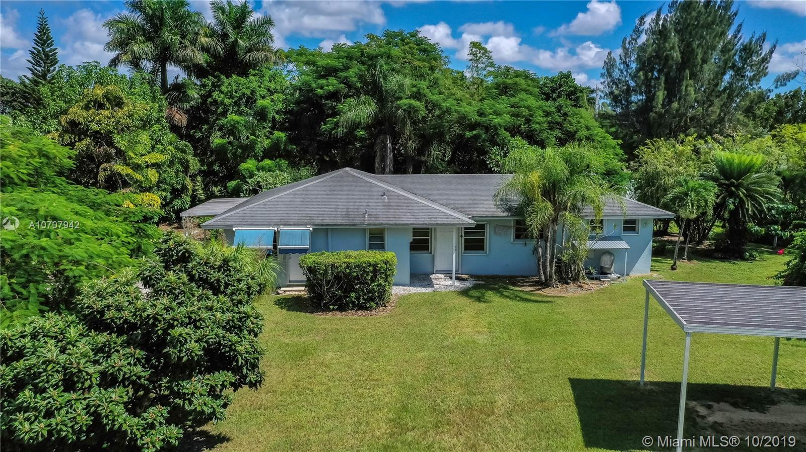 26600 SW 187 Ave  For Sale A10707942, FL