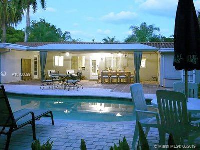 1828 Square Feet. Completely furnished Turn-Key Vacation home. Large Open Floor plan with Backyard Oasis -ideal for entertaining . COMPLETELY FURNISHED, just bring your toothbrush. Had it listed on AirBnB for a little. Grossed $21,500 from Jan - April 2019. Get your own permit and take over the listing. Wilton Manors. Large Mature Lot. Private Pool. According to latest inspection, the Home has 1828 Square Feet of Gross Living Area Above Grade. Lot size is 12,218 Sq. Ft. (.28 acres) Home is Occupied.urrounded by beautiful homes. sold furnished and as-is, this Wilton Manors Gem awaits your Personal Touches. Our generous, Open Floor Plan flows outside to the Private Pool and Backyard Oasis. This house is great for entertaining!