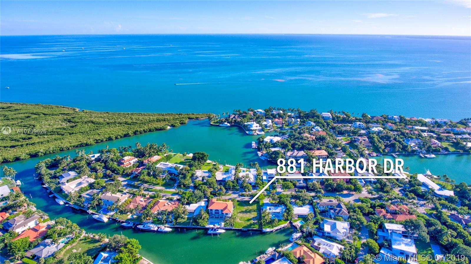 881  Harbor Dr  For Sale A10709626, FL