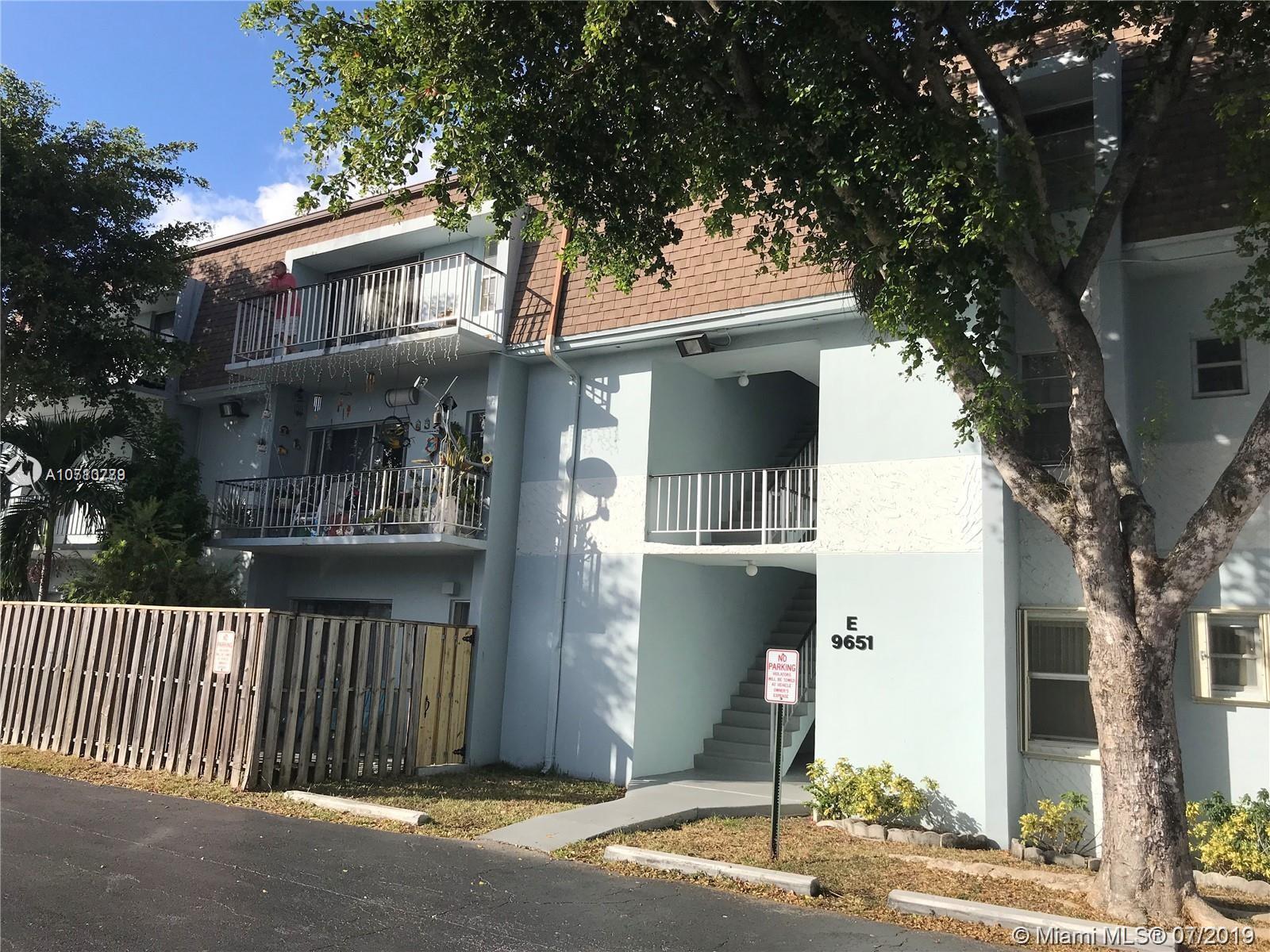 9651 S W 77th Ave #106E For Sale A10710779, FL