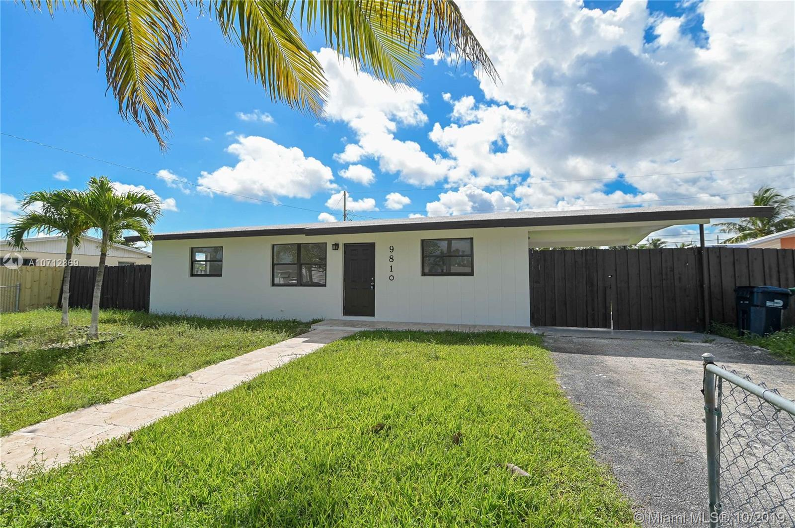 9810  Marlin Rd  For Sale A10712869, FL