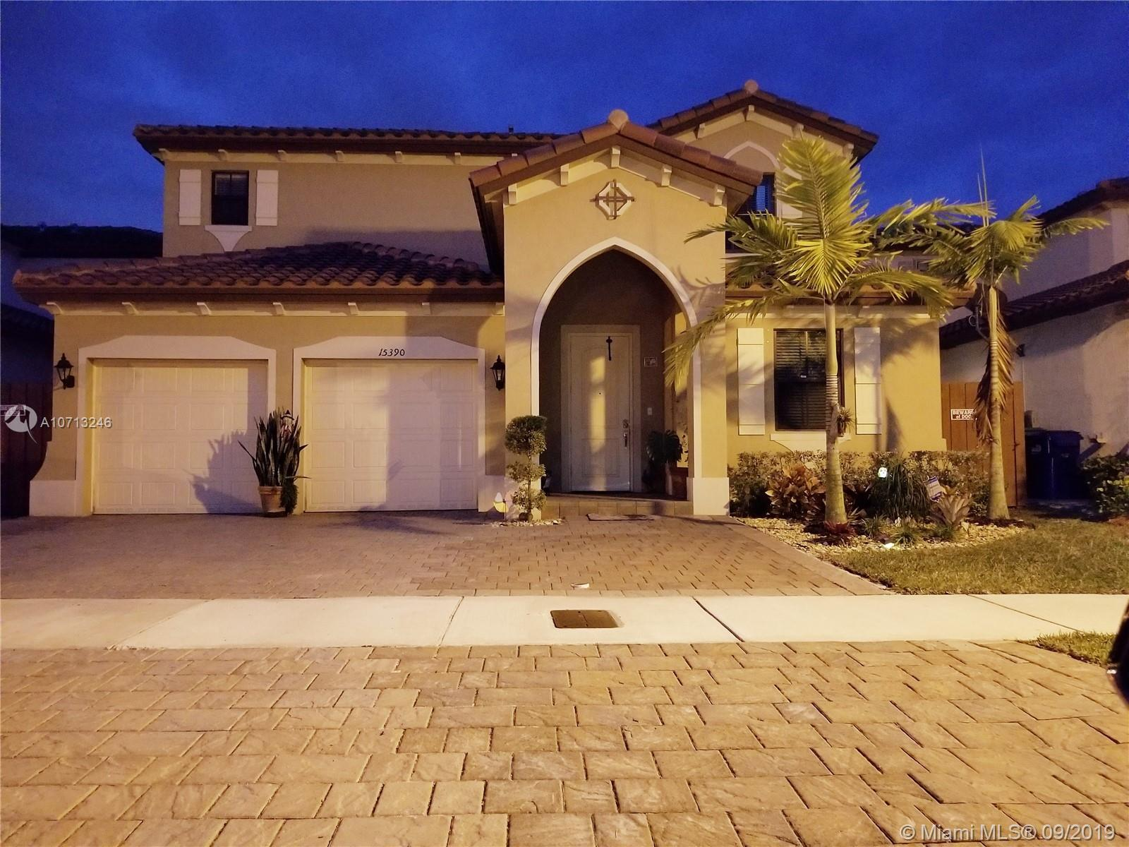 15390 SW 173rd St  For Sale A10713246, FL