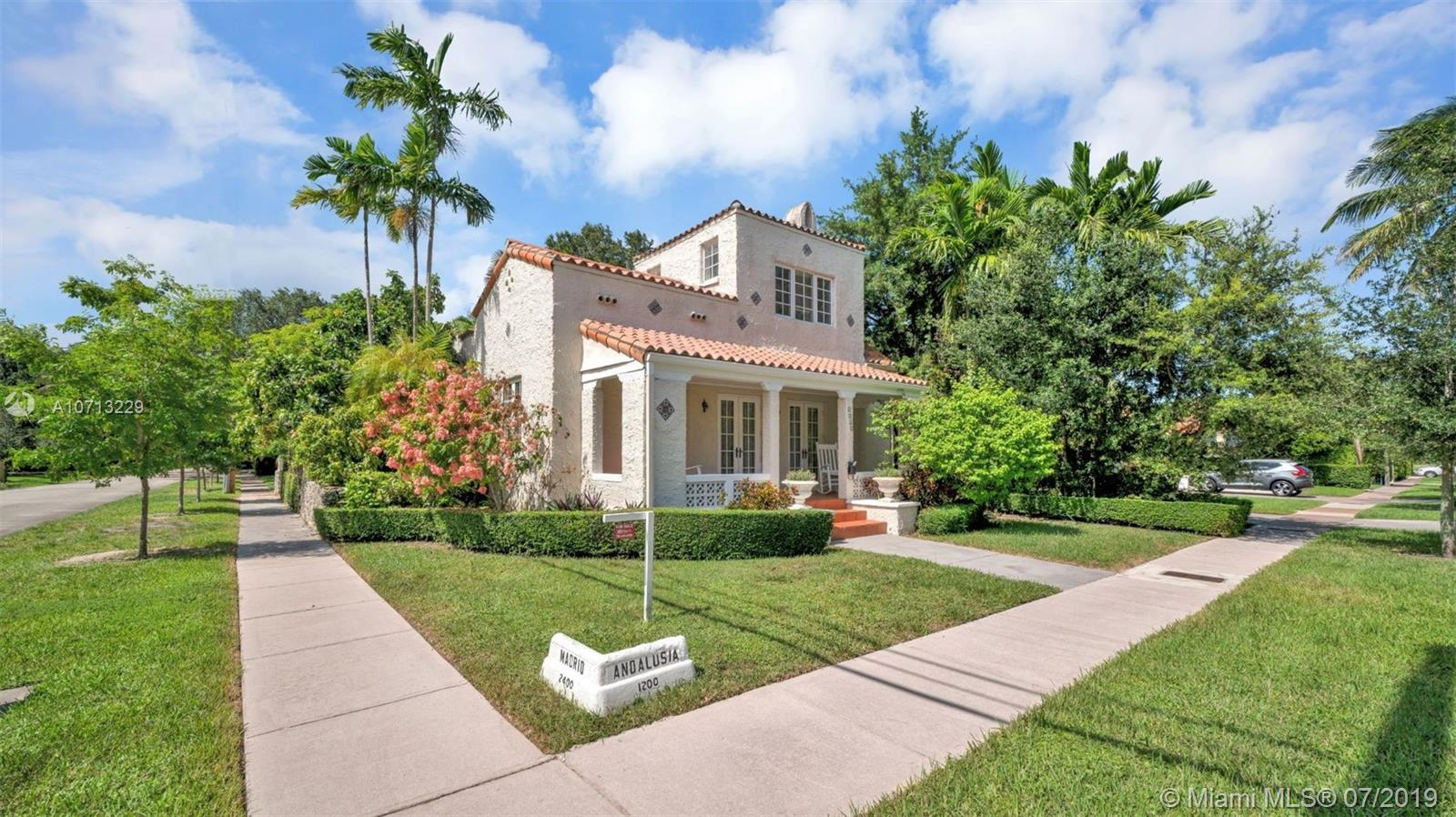 1265  Andalusia Ave  For Sale A10713229, FL