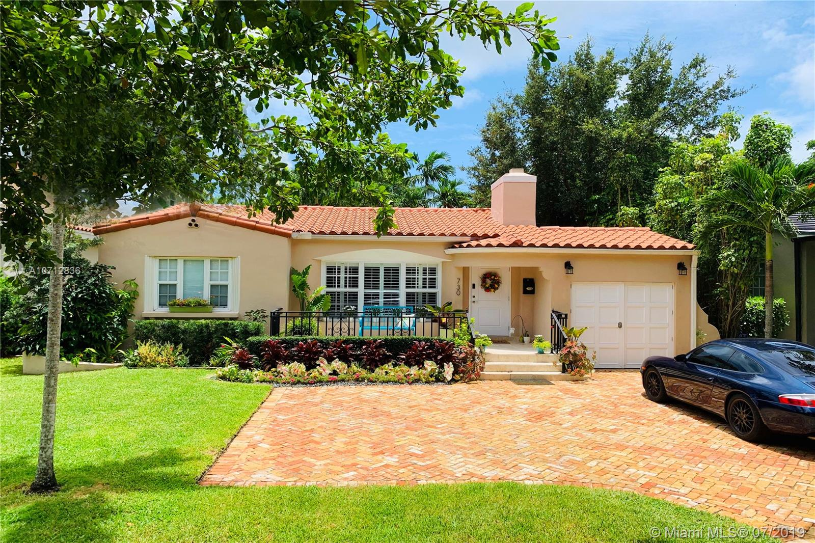 730  Madeira Ave  For Sale A10712836, FL